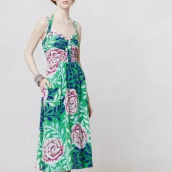 Anthropologie Dresses & Skirts - Moulinette Soeurs Silk Rosamund Dress